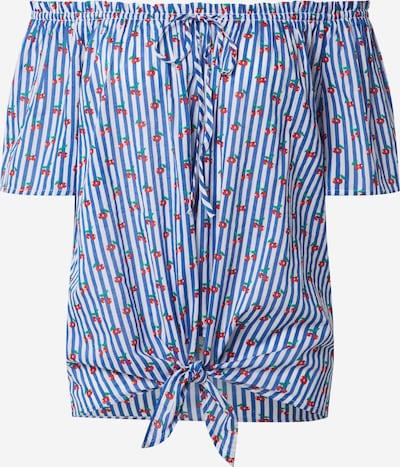 UNITED COLORS OF BENETTON Bluse in blau / mischfarben, Produktansicht
