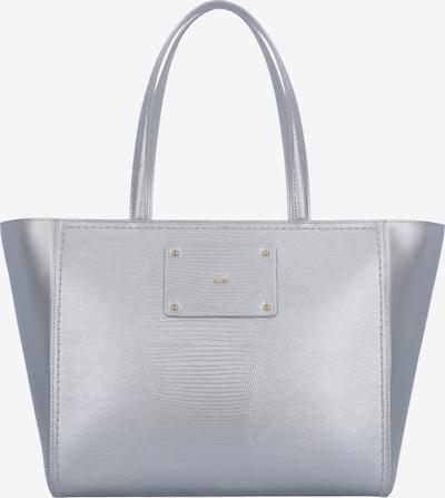 roberto cavalli Dahlia Shopper Tasche Leder 33 cm in silber, Produktansicht