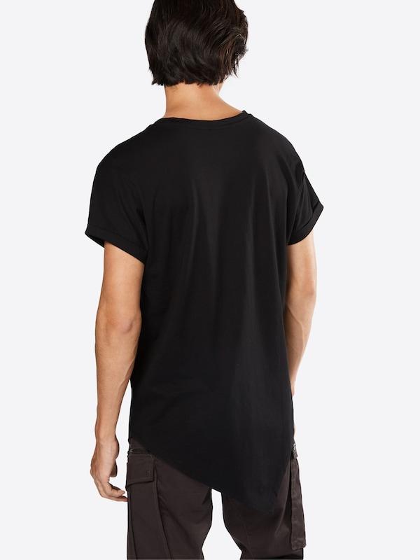 Urban Classics T-Shirt 'Asymetric Long Tee'
