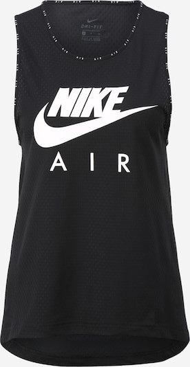 Nike Sportswear Top 'Nike Air' in de kleur Zwart / Wit, Productweergave