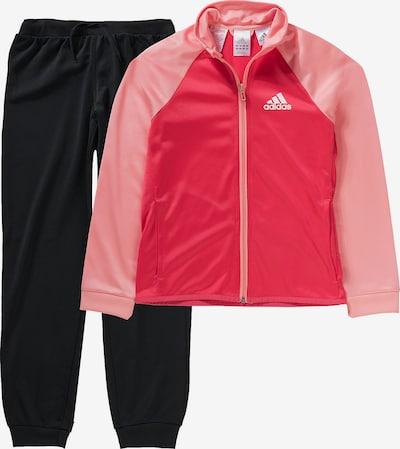 ADIDAS PERFORMANCE Trainingsanzug in rosa / pitaya / schwarz / weiß, Produktansicht