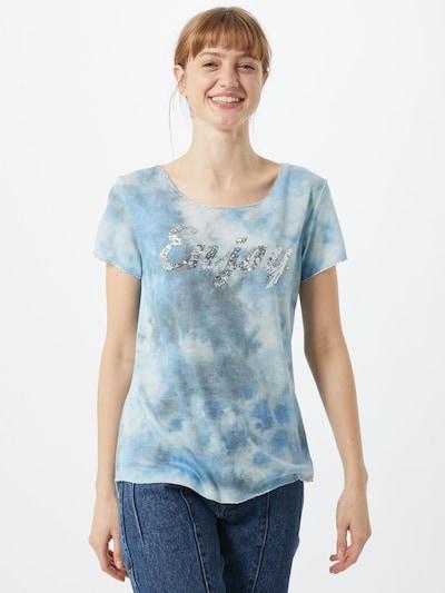 Key Largo Shirt in blau: Frontalansicht