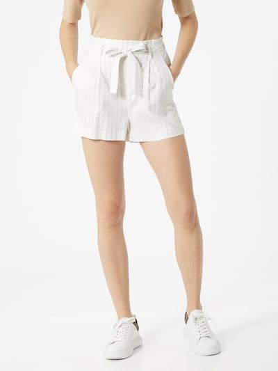 Tally Weijl Shorts 'AQEM' in hellbeige / weiß, Modelansicht