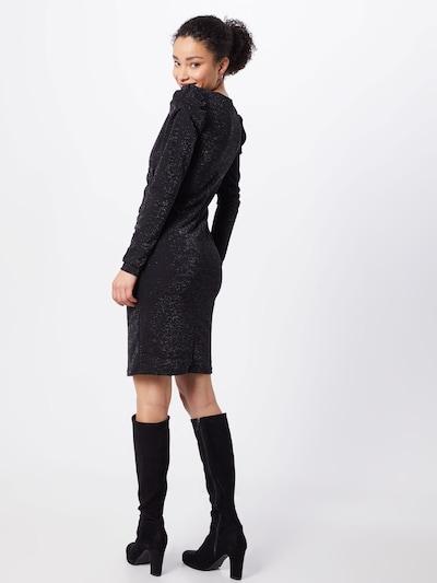 Gestuz Obleka 'Solin'   črna barva: Pogled od zadnje strani