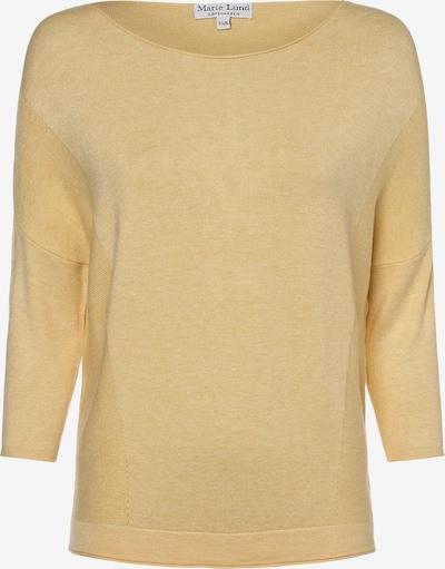 Marie Lund Pullover in gelb, Produktansicht