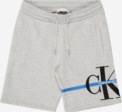 Calvin Klein Jeans Shorts 'MONOGRAM STRIPE SWEATSHORT' in hellgrau, Produktansicht