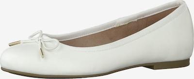 TAMARIS Balerīntipa apavi pieejami balts, Preces skats