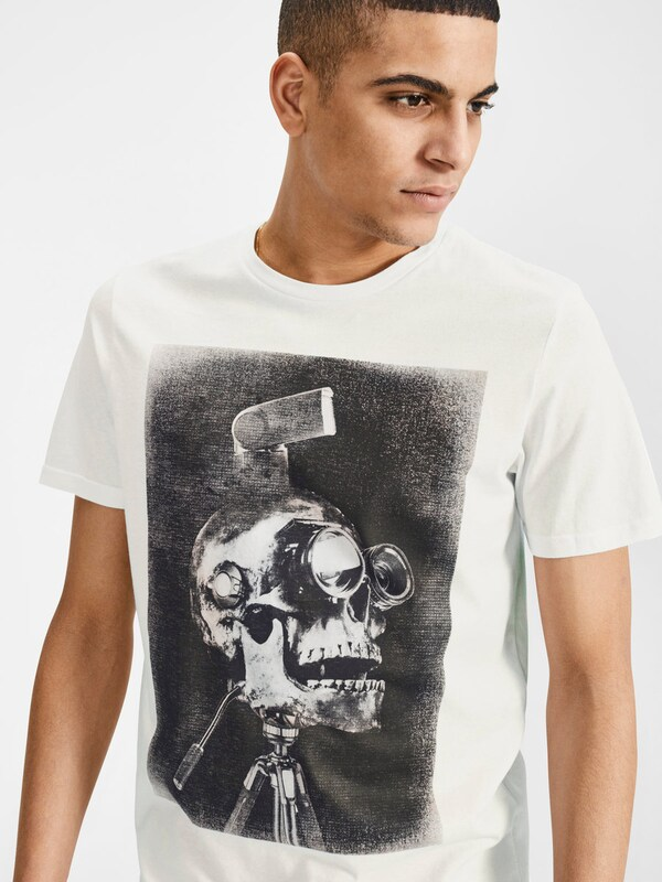 JACK & JONES Rock 'n' Roll Print T-Shirt