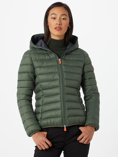 SAVE THE DUCK Jacke in dunkelgrün, Modelansicht