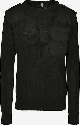 Brandit Pullover in Schwarz