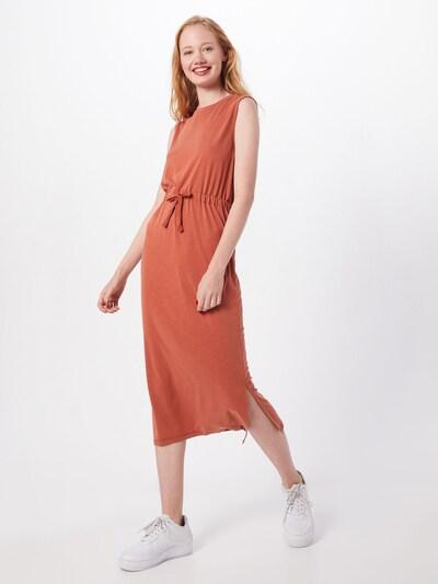 Superdry Kleid in rostbraun, Modelansicht