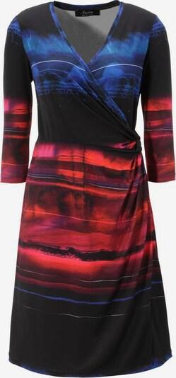 Aniston SELECTED Kleid in kobaltblau / pink / rot / schwarz, Produktansicht