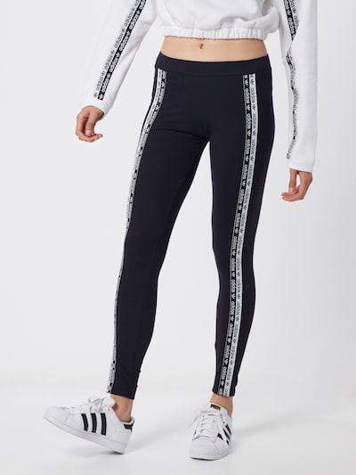ADIDAS ORIGINALS Leggings in schwarz / weiß, Modelansicht