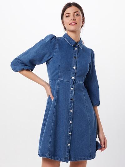 minimum Kleid 'bahira 6765' in dunkelblau, Modelansicht