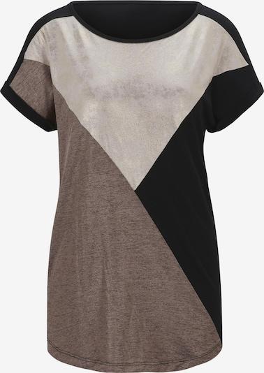 heine Shirt in beige / braun / schwarz, Produktansicht
