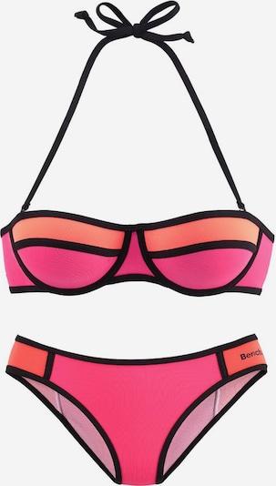 BENCH Balconette-Bikini in orange / koralle / pink, Produktansicht