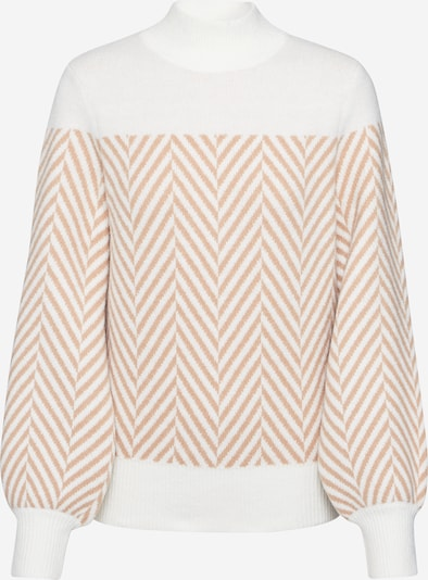 Fashion Union Pullover 'ALAMEDA' in creme / taupe, Produktansicht