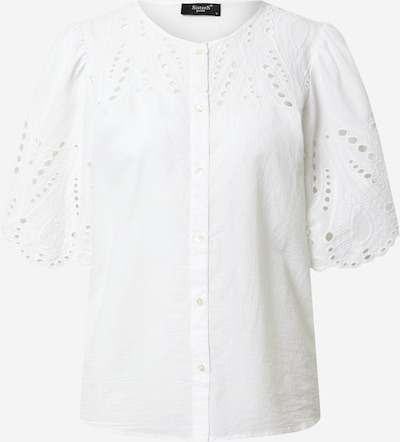 SISTERS POINT Bluza 'ILMA-SH' | bela barva: Frontalni pogled