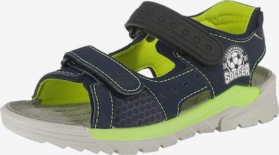 RICOSTA Sandale 'Soccer' in nachtblau / apfel / weiß, Produktansicht