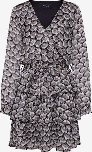 SISTERS POINT Sukienka 'NAPPA-DR2' w kolorze camel / szarym: Widok z przodu
