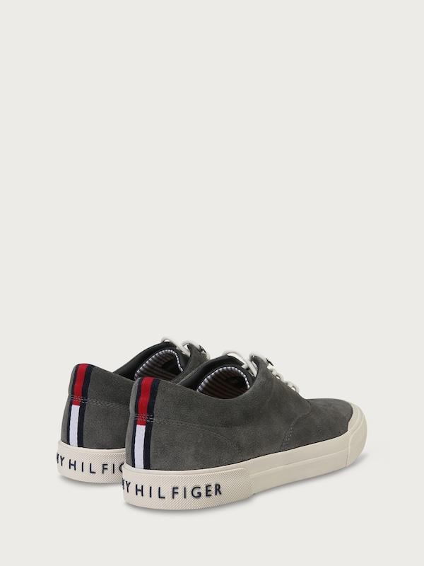 TOMMY HILFIGER Sneaker 'HERITAGE' aus Veloursleder
