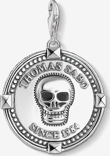 Thomas Sabo Charm 'Coin Totenkopf, 1698-637-21' in silber, Produktansicht