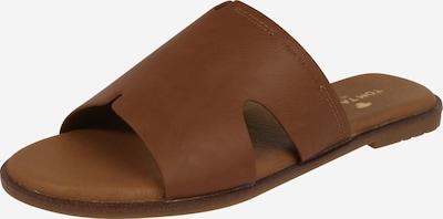 TOM TAILOR Pantolette in cognac, Produktansicht