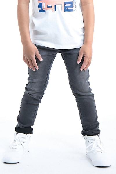 GARCIA Jeans in black denim: Frontalansicht