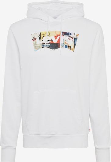 Bluză de molton 'HOODIE 2.0' LEVI'S pe culori mixte / alb, Vizualizare produs