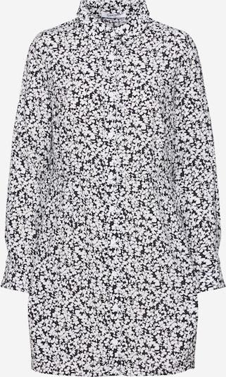 GLAMOROUS Dolga srajca | črna / bela barva, Prikaz izdelka