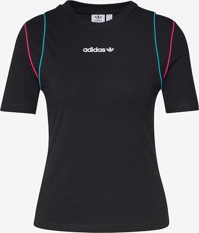 ADIDAS ORIGINALS Shirt in türkis / neonpink / schwarz, Produktansicht