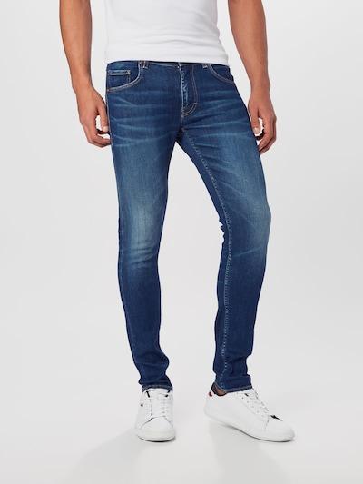 Tiger of Sweden Jeans 'SLIM' in blue denim, Modelansicht