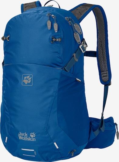 JACK WOLFSKIN Sac à dos de sport 'Moab Jam' en bleu roi / gris, Vue avec produit