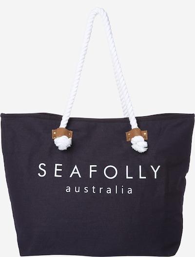 Seafolly Strandtasche 'Ship Sail Tote' in dunkelblau, Produktansicht