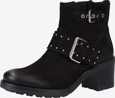 Venturini Milano Bottines en noir, Vue avec produit