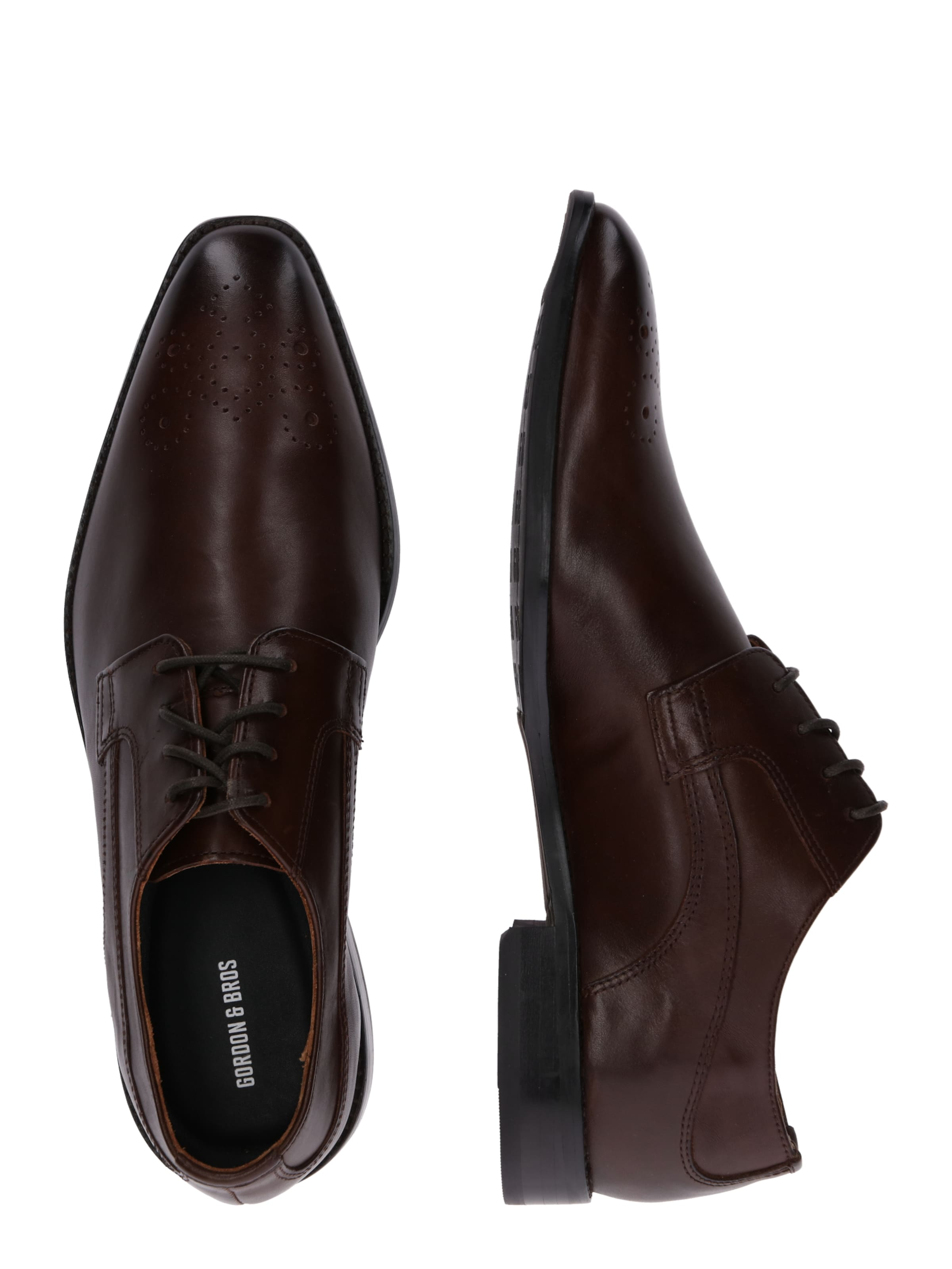 À Brun En Lacets Bros 'lorenzo' Foncé Chaussure Gordonamp; ONw0vym8n