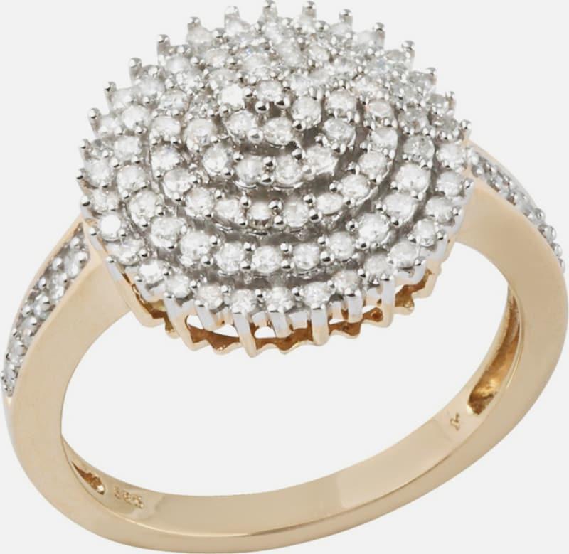 FIRETTI firetti Ring mit funkelnden Diamanten
