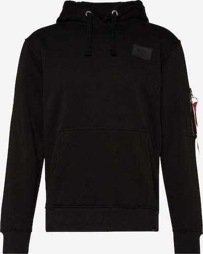 ALPHA INDUSTRIES Pullover in schwarz, Produktansicht