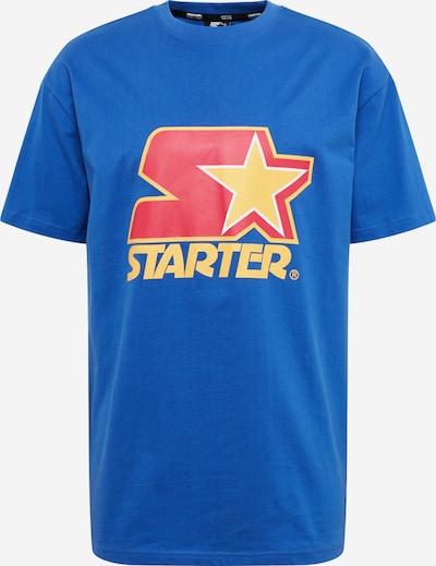 Starter Black Label Majica 'Starter Colored Logo Tee ' | modra / rumena / rdeča barva, Prikaz izdelka
