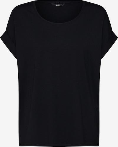 ONLY Lässiges Kurzarm-Shirt in schwarz, Produktansicht