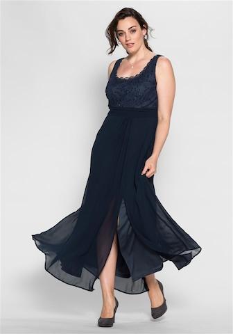 SHEEGO Evening Dress in Blue