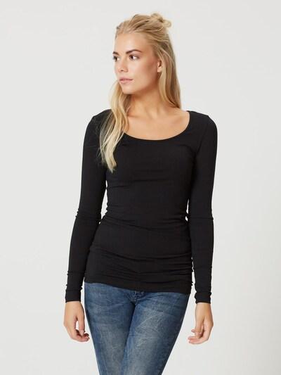 VERO MODA Shirt in schwarz: Frontalansicht
