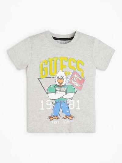 GUESS KIDS T-Shirt in grau: Frontalansicht