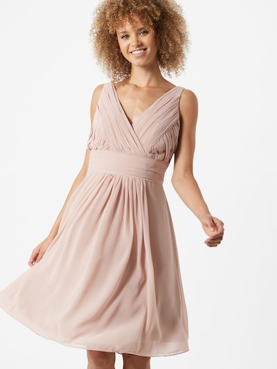 STAR NIGHT Šaty - pastelovo ružová: Pohľad spredu