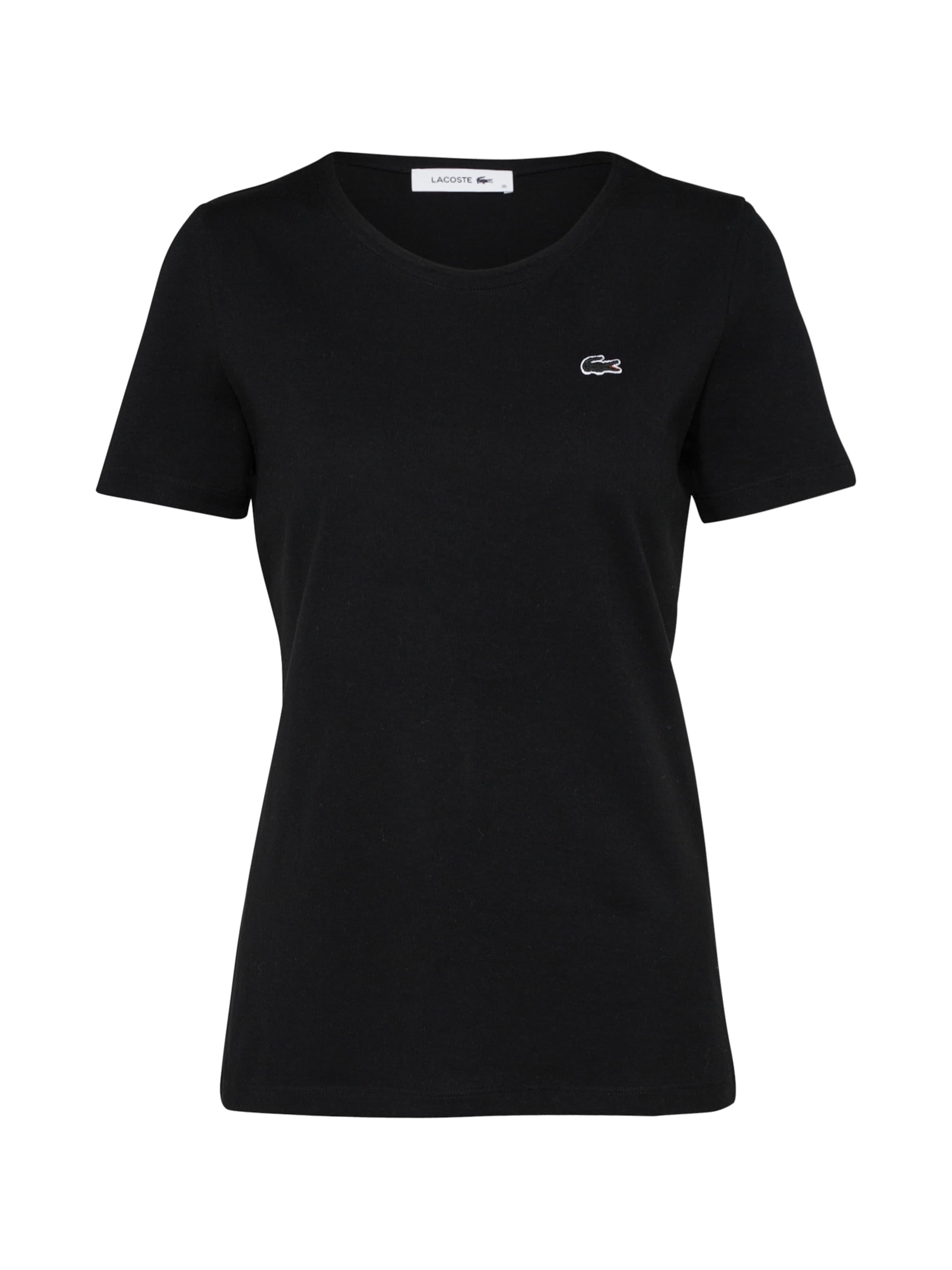 Lacoste En shirt Lacoste T Noir T shirt 3qA5R4jL
