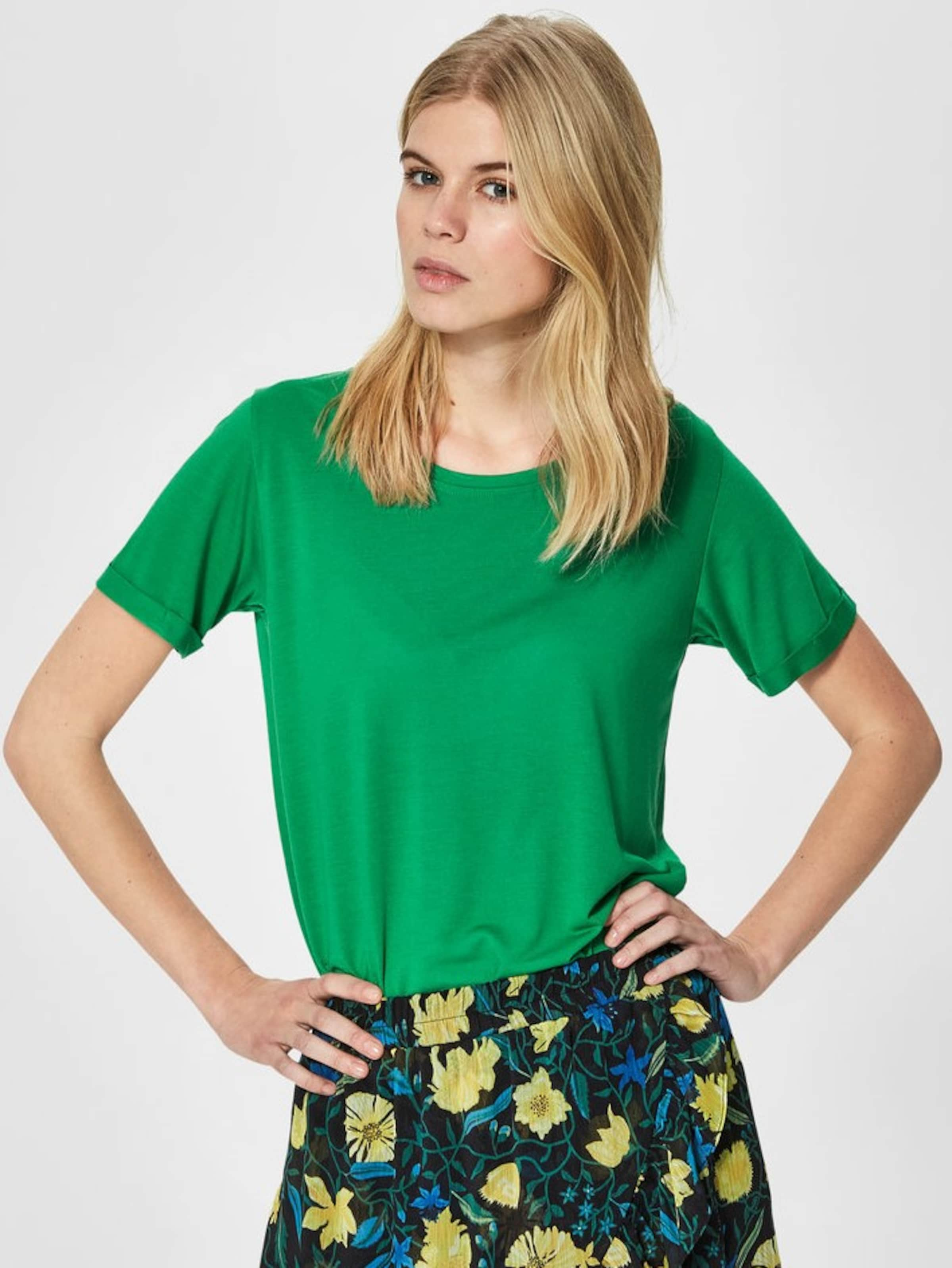 Neue Stile Rabatt Sneakernews SELECTED FEMME T-Shirt Basic 1xVNJk4