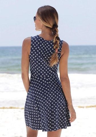 BEACH TIME Strandkleid in Blue