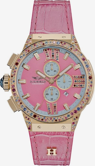 HAEMMER Uhr in gold / rosa, Produktansicht