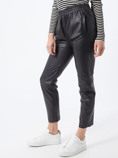 OAKWOOD Spodnie 'Gifter' w kolorze czarnym, Podgląd na modelu(-ce)