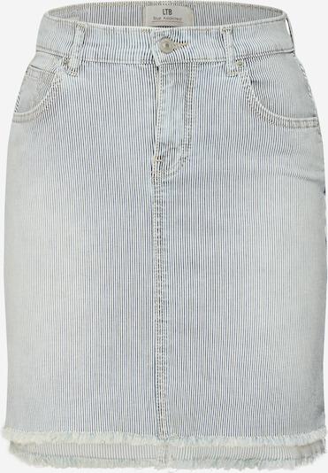 LTB Jeansrock 'INNIE' in blau / weiß, Produktansicht